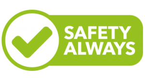 Safety Always Logo - Gwella's commitment to safety in the workplace