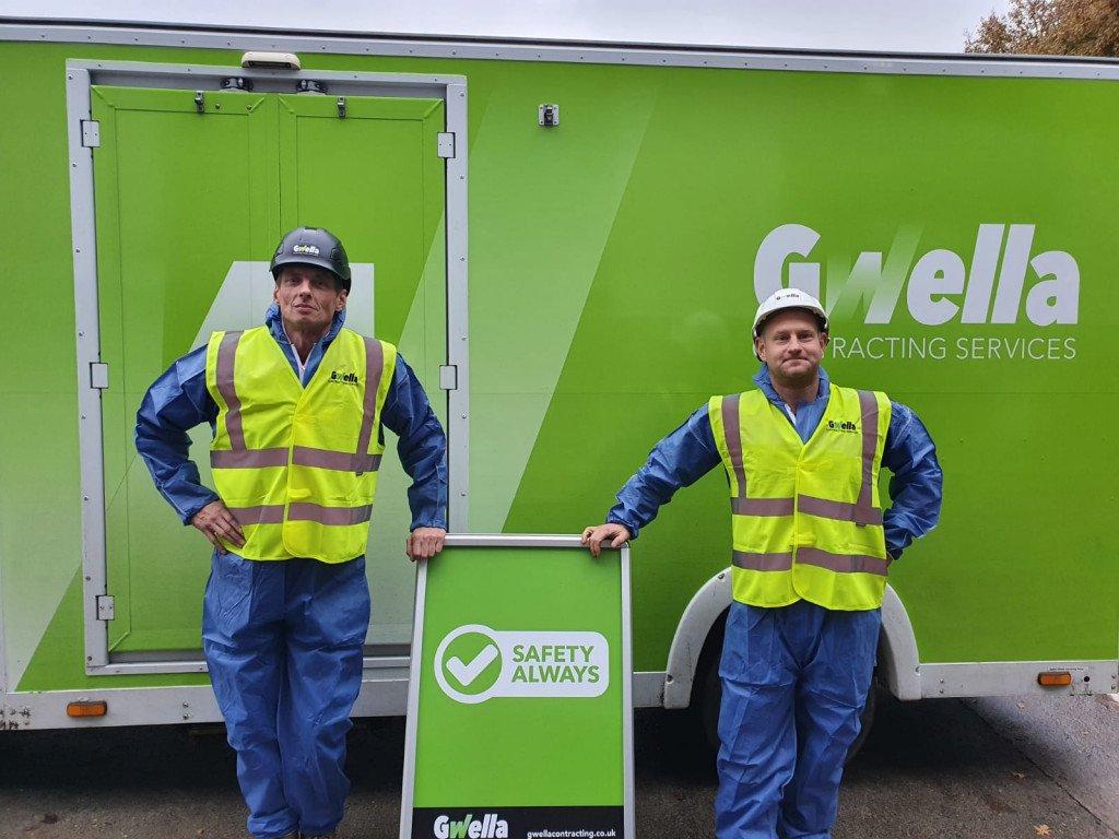 Darren & Chris Asbestos Operatives - Plymouth & Somerset