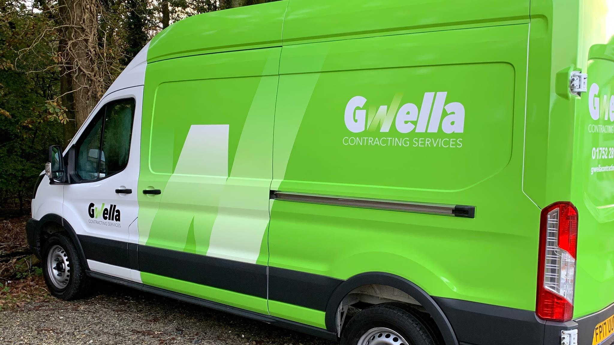 New asbestos removal in Somerset van